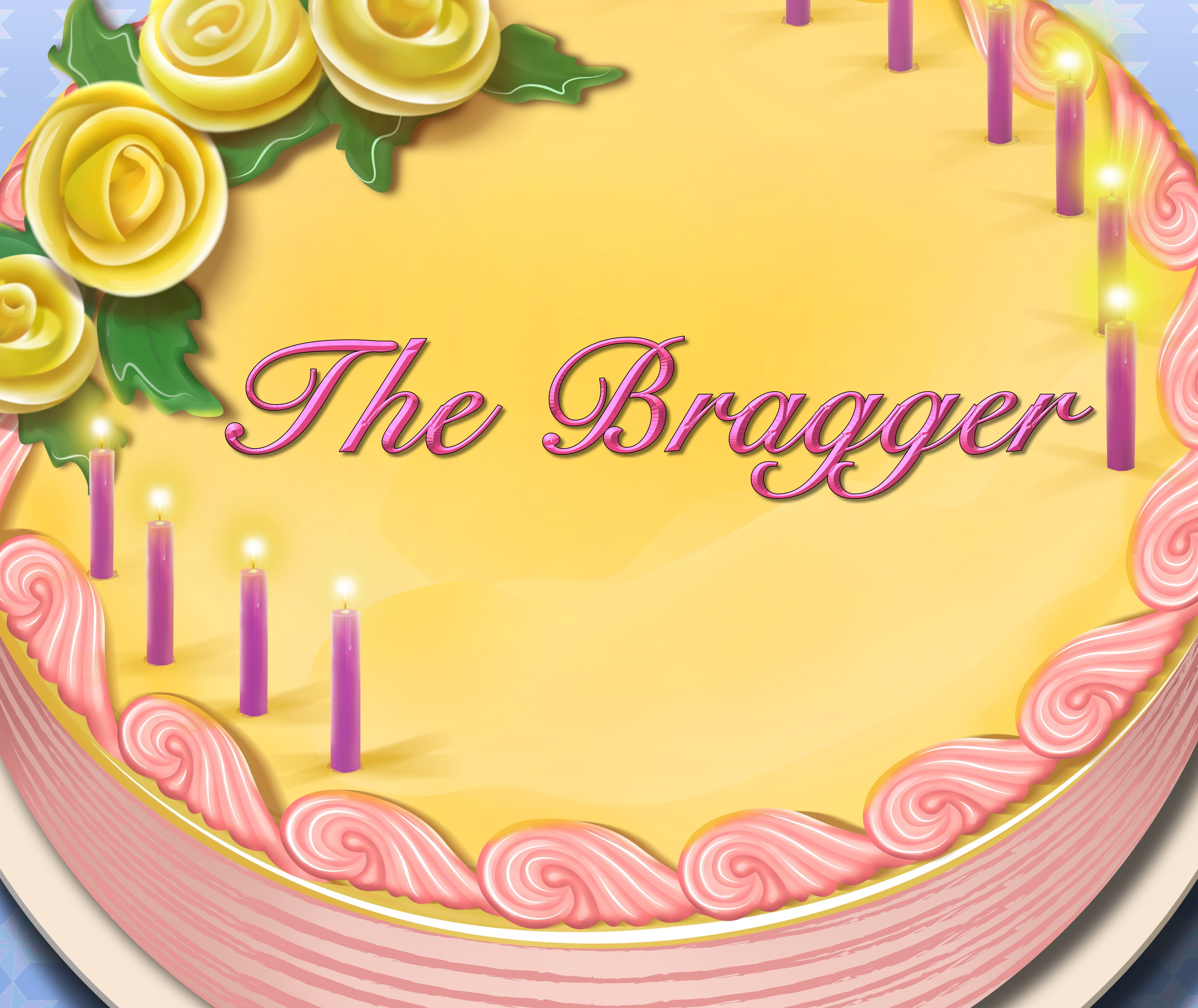 The Bragger Birthday Cake