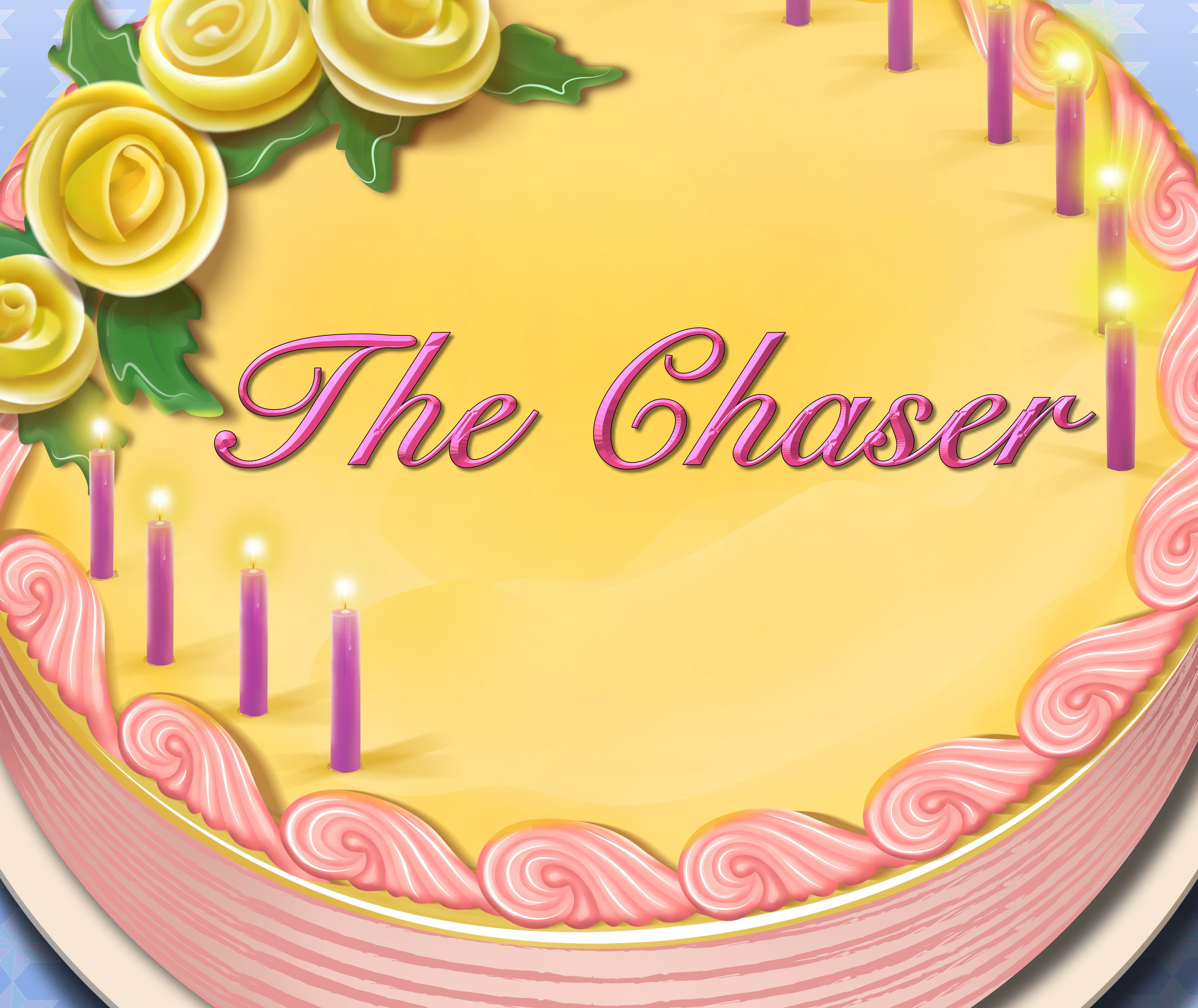 The Chaser Birthday Cake