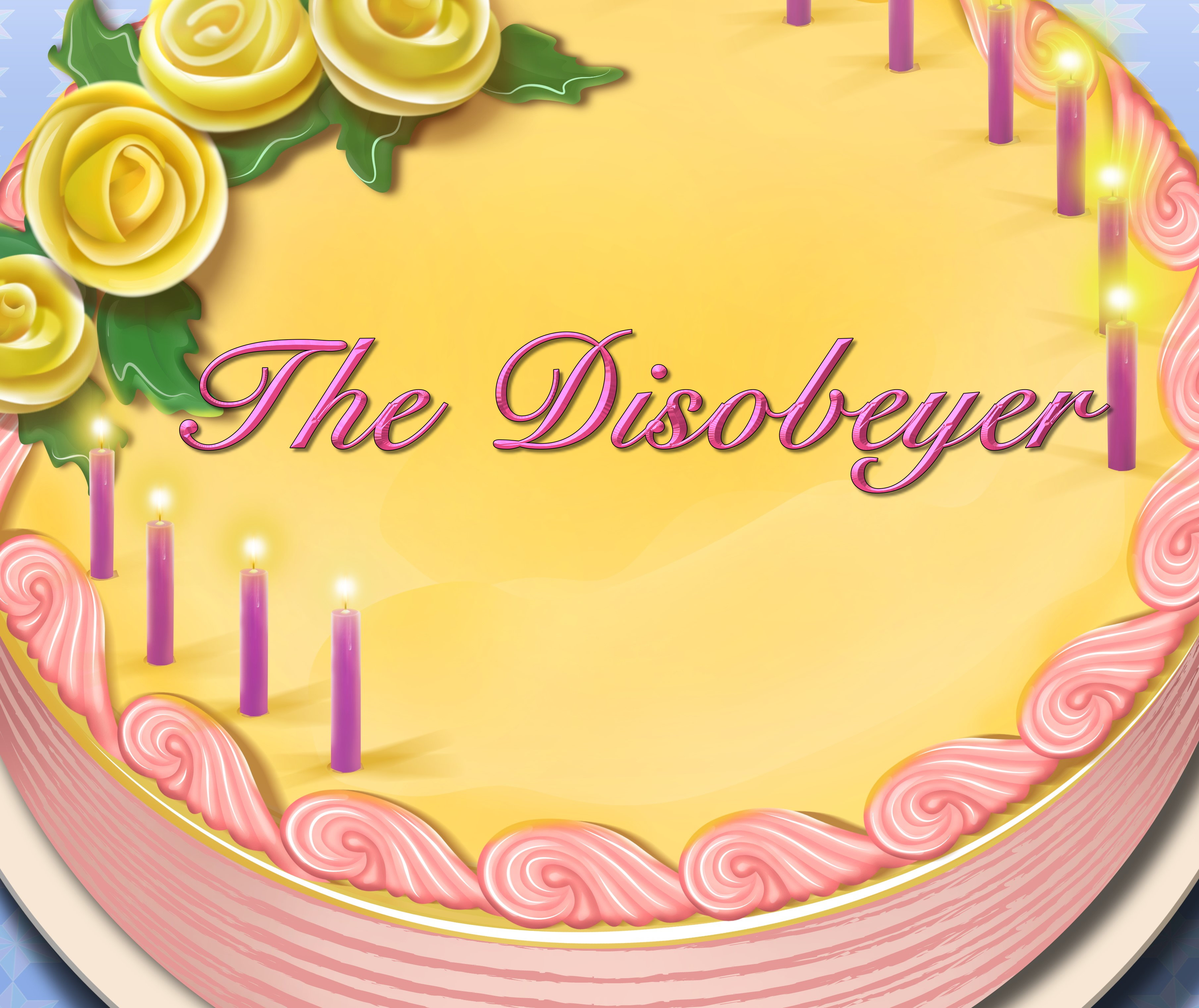 The Disobeyer Birthday Cake