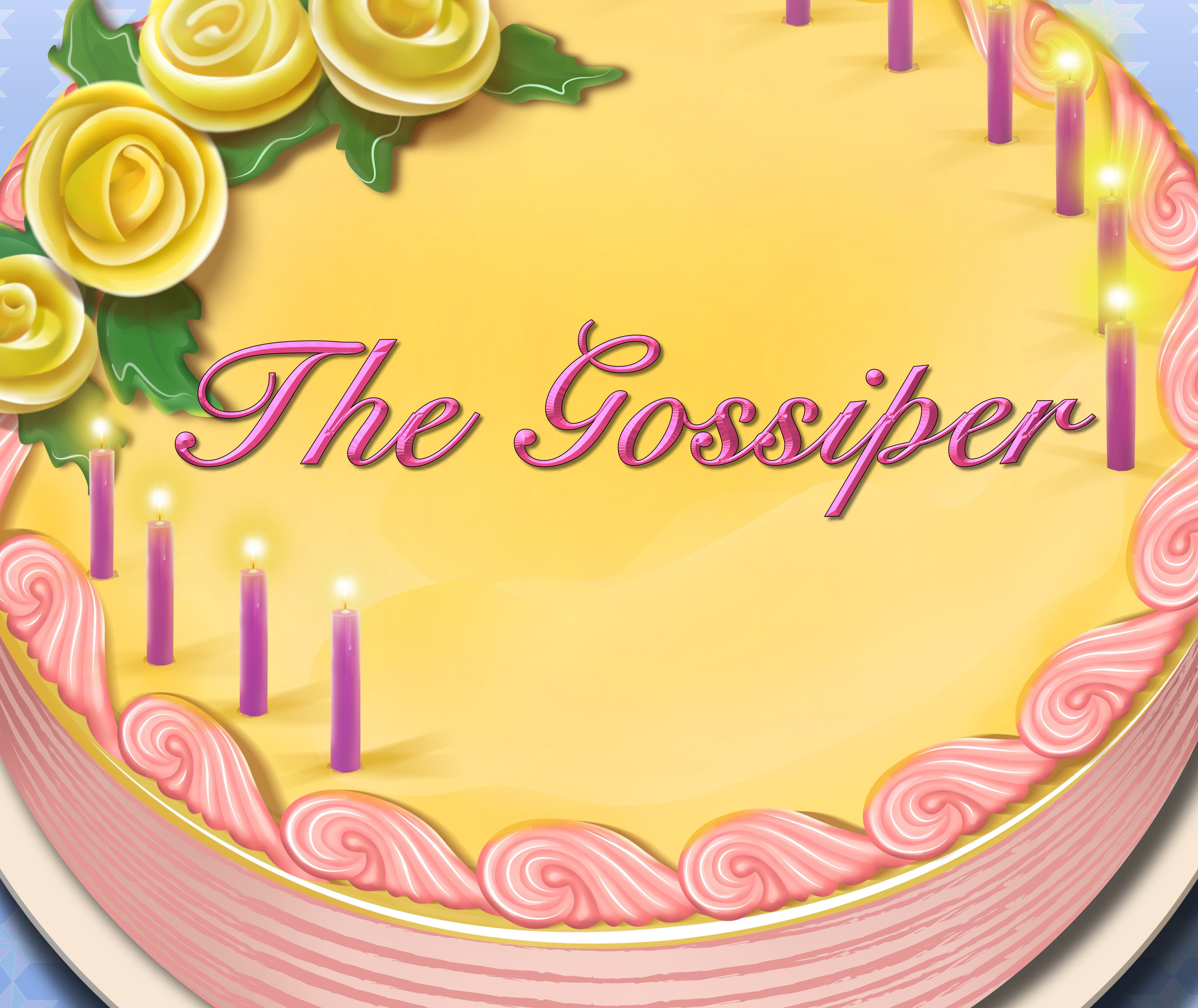 The Gossiper Birthday Cake