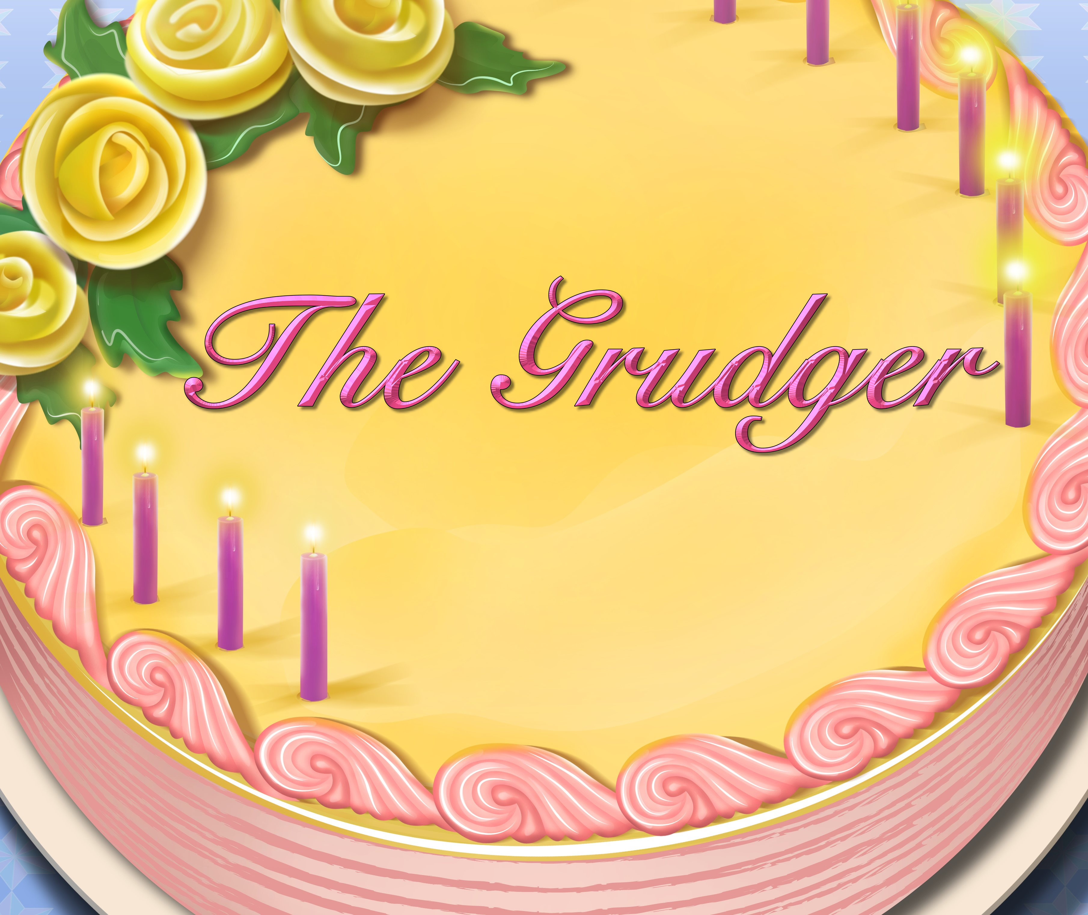 The Grudger Birthday Cake