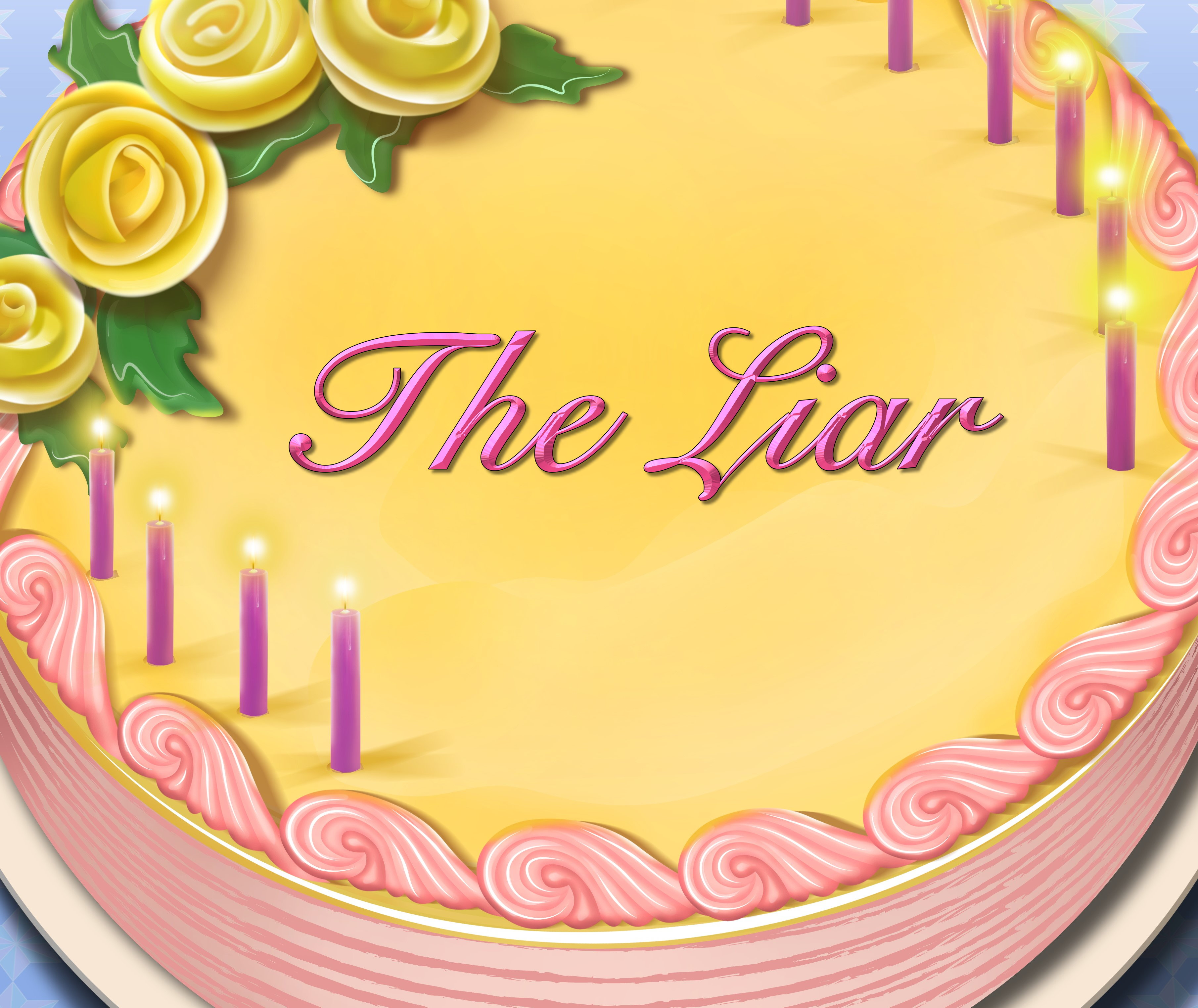 The Liar Birthday Cake